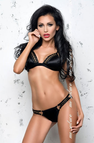 Me Seduce Isabella Set (Black) - Lingerie Sets - Me Seduce - Charm and Lace Boutique
