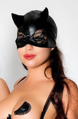Me Seduce Mask MK03 (Black) - Masks - Me Seduce - Charm and Lace Boutique