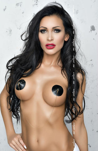 Me Seduce Nipple Covers NC017 (Black) - Nipple Pasties - Me Seduce - Charm and Lace Boutique