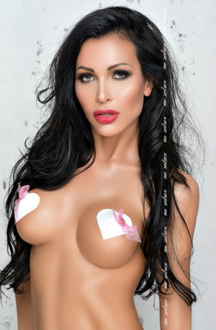 Me Seduce Nipple Covers NC021 (Pink) - Nipple Pasties - Me Seduce - Charm and Lace Boutique