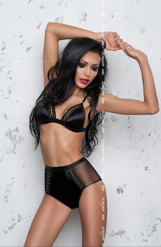 Me Seduce Olivia Set (Black) - Lingerie Sets - Me Seduce - Charm and Lace Boutique