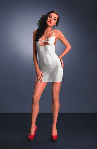 Me Seduce Palmira Chemise (White) - Chemises - Me Seduce - Charm and Lace Boutique