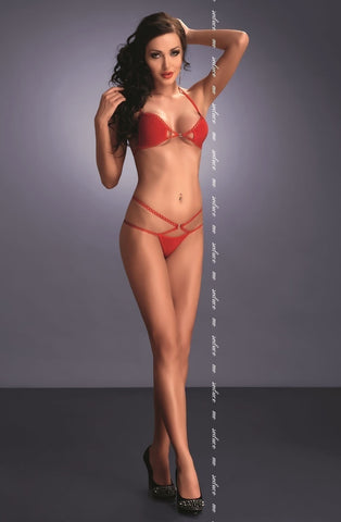 Me Seduce Palmira Set (Red) - Lingerie Sets - Me Seduce - Charm and Lace Boutique