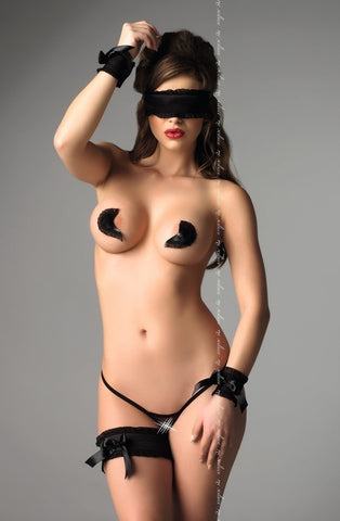 Me Seduce Velma Accessories Set (5pc) - Nipple Pasties - Me Seduce - Charm and Lace Boutique