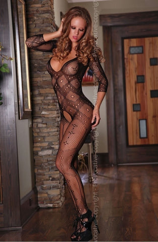 Provocative Body Stocking PR4164 - Body Stockings - Provocative - Charm and Lace Boutique