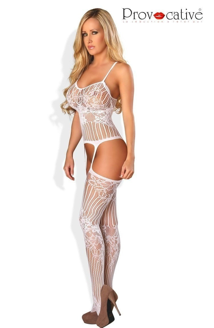 Provocative Bodystocking PR4460 - Body Stockings - Provocative - Charm and Lace Boutique
