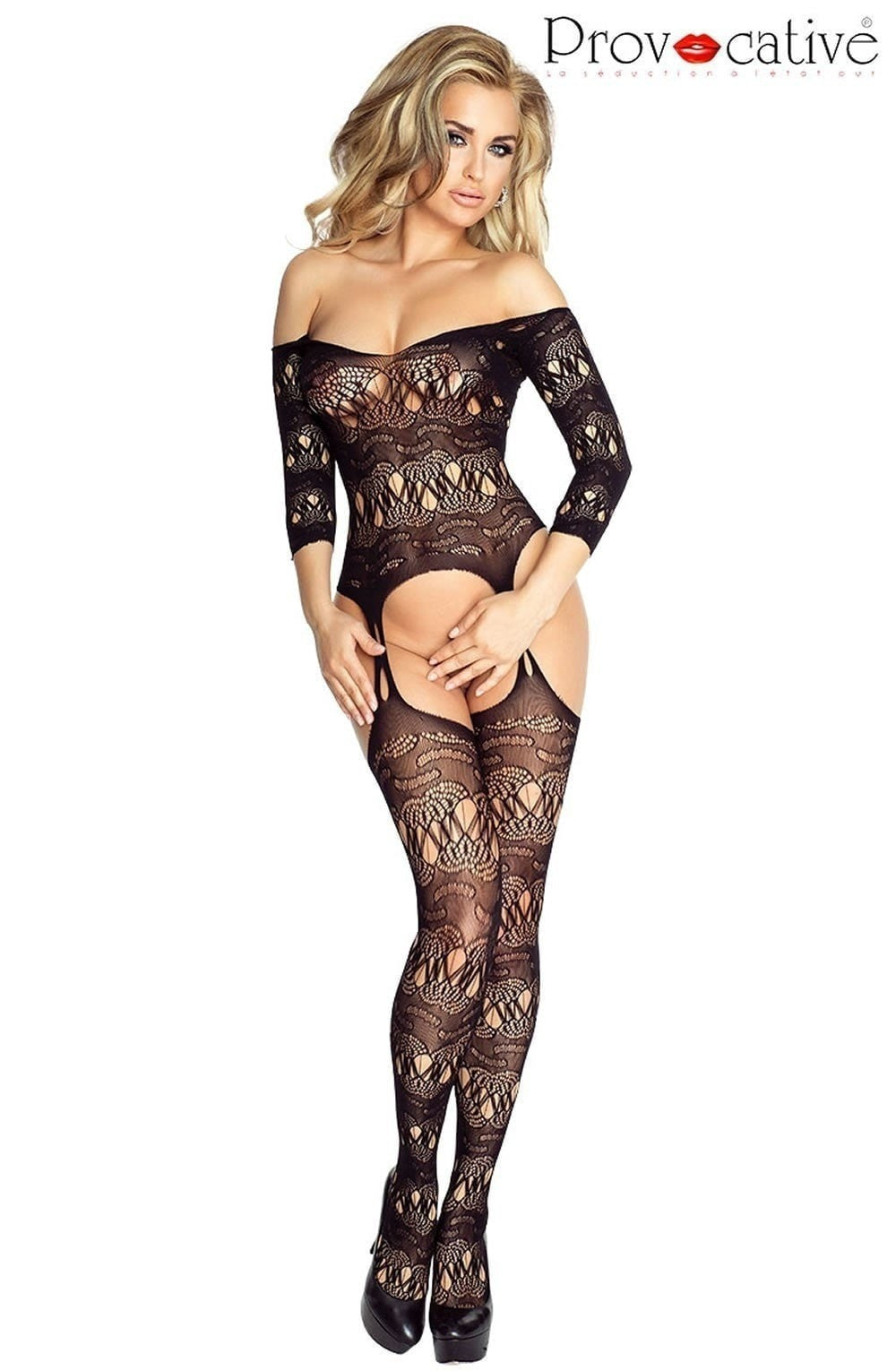 Provocative Bodystocking PR4686 at Charm and Lace Boutique