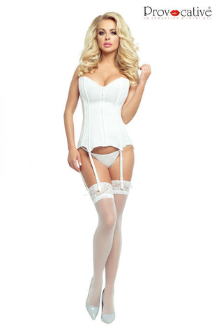 8fbfbf76541e8 Provocative Corset (White). $85.00 USD. QUICK VIEW · Ballerina Plus Size  Hold Ups ...