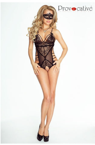 Provocative L'Eternelle Body (Black) - Bodys - Provocative - Charm and Lace Boutique