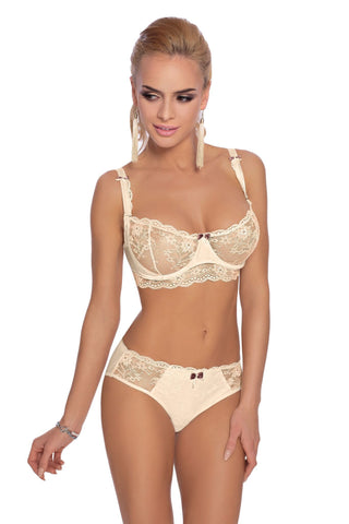 Roza Fifi Soft Cup Bra (Ivory) - Soft Cup Bras - Roza - Charm and Lace Boutique