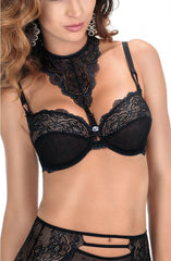 Roza Zulaj Soft Cup Bra (Black) - Soft Cup Bras - Roza - Charm and Lace Boutique