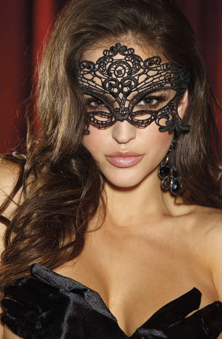 Shirley of Hollywood 90348 Venice Mask - Masks - Shirley of Hollywood - Charm and Lace Boutique