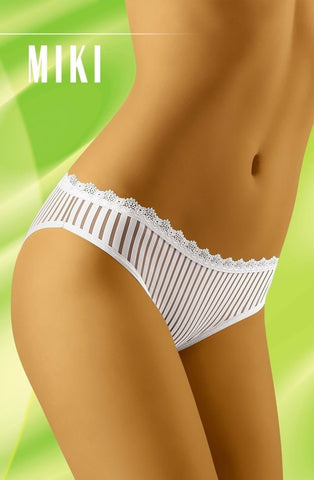 Wolbar Miki Brief (White) - Briefs - Wolbar - Charm and Lace Boutique