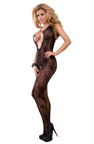 YesX Bodystocking YX403 (Black) - Body Stockings - YesX - Charm and Lace Boutique