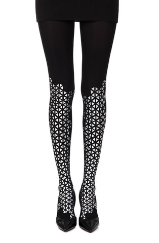 "Zohara ""Beat Goes On"" Tights (Black) - Tights - Zohara - Charm and Lace Boutique"