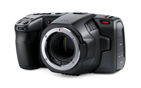 Blackmagic Design Pocket Cinema Camera 6K (Lens not included)