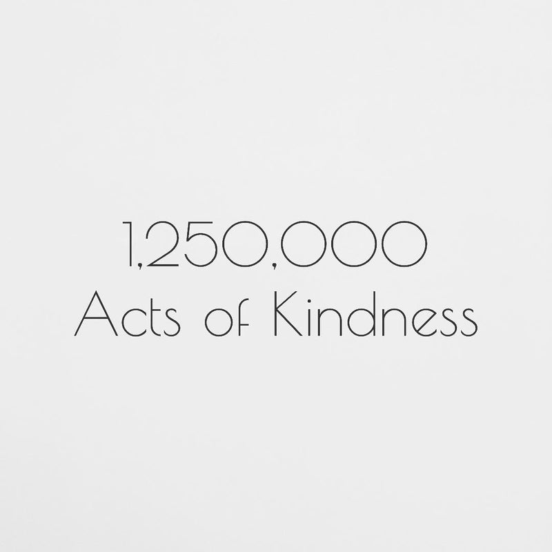 1,250,000 Acts of Kindness!!