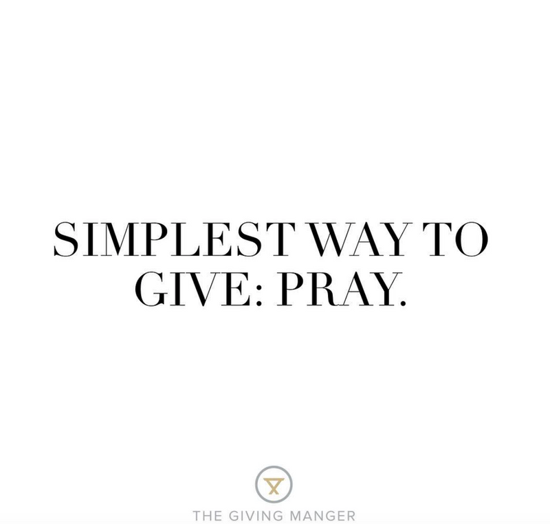 The Simplest Way to Give