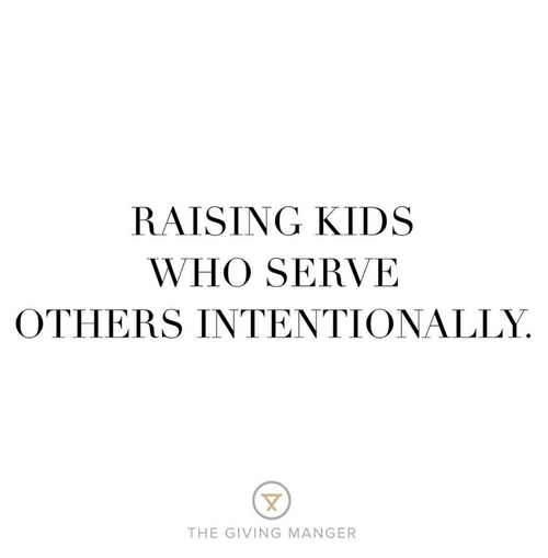 Serve Others Intentionally