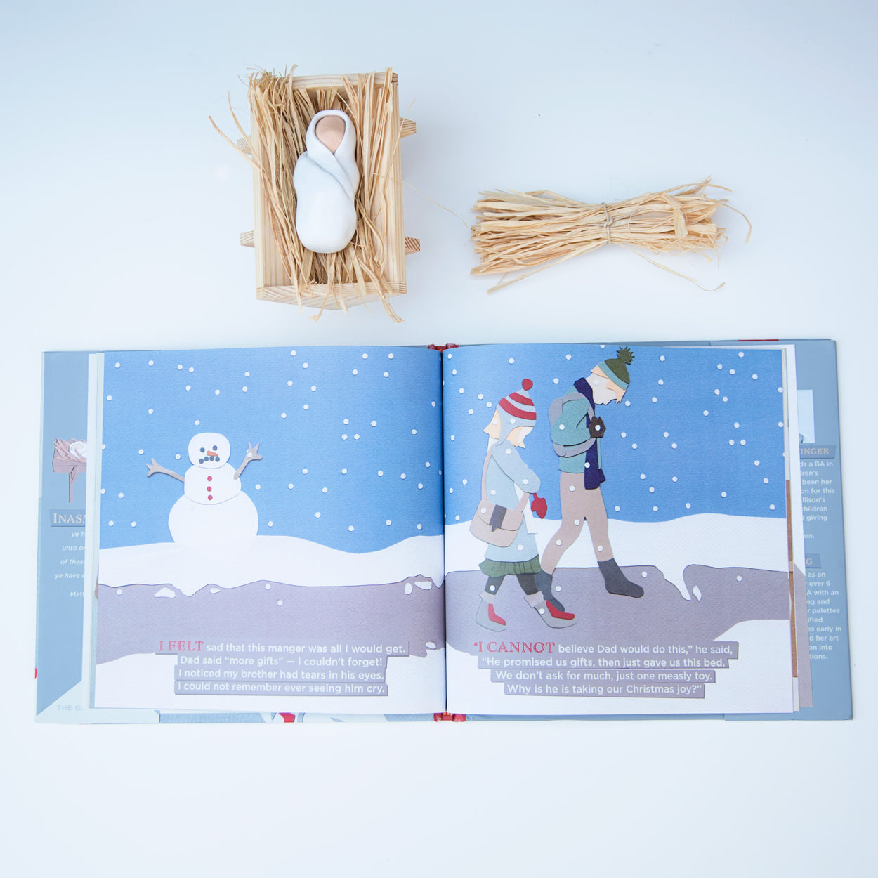The Giving Manger Christmas Tradition *limited stock remaining*