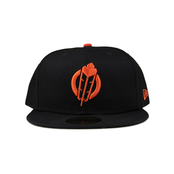 SECTION 35 - NEW ERA 59FIFTY CAP (Black/Orange)