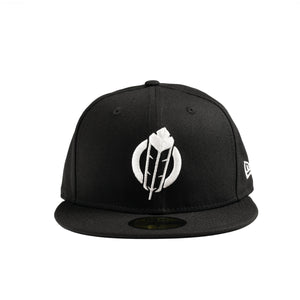 SECTION 35 - NEW ERA 59FIFTY CAP (Black/White)