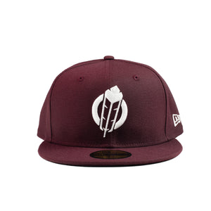 SECTION 35 - NEW ERA 59FIFTY CAP (Maroon/White)