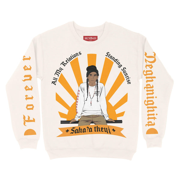 **Pre-Sale** Standing Sunrise Crewneck Sweater