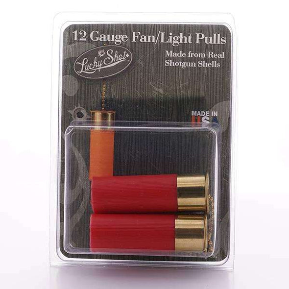 12 Gauge Light Pull or Fan Pull - Set of 2