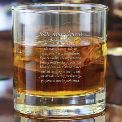 Whiskey Glass - 18th Amendment