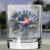 Whiskey Glass - Broad Stripes and Bright Stars