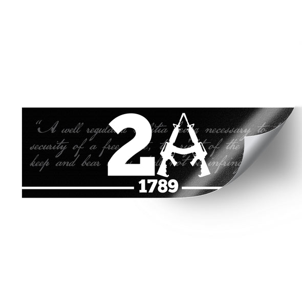 2nd Amendment Sticker Pack