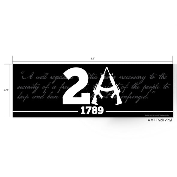 2A SP Whiskey Sticker Pack