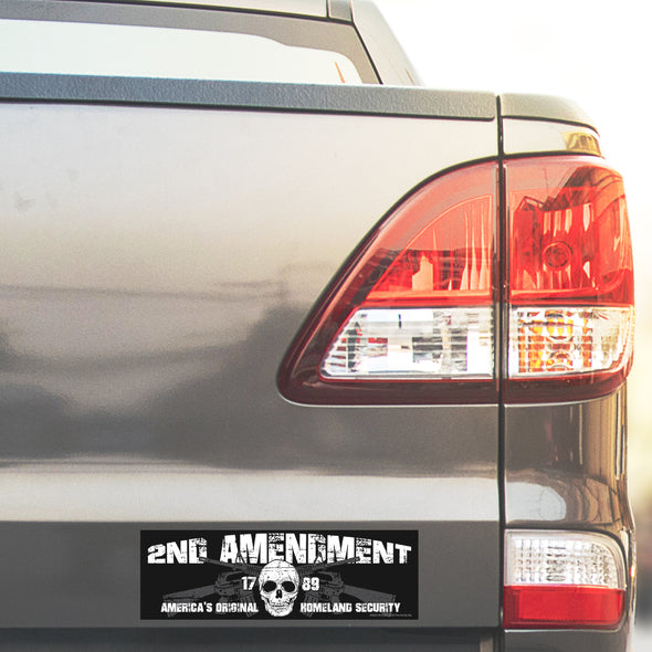 Skull and Guns 2A SP Whiskey Sticker Pack