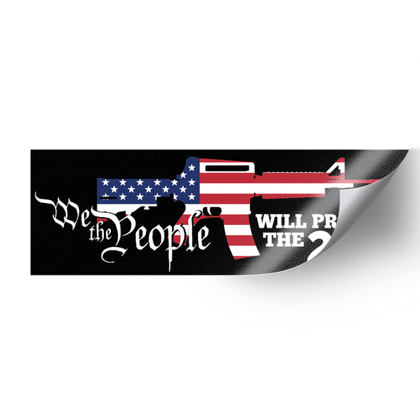 We The People 2A SP Whiskey Sticker Pack