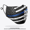 Duty Honor Courage Mask