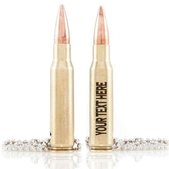 .308 Bullet Ballchain Necklace