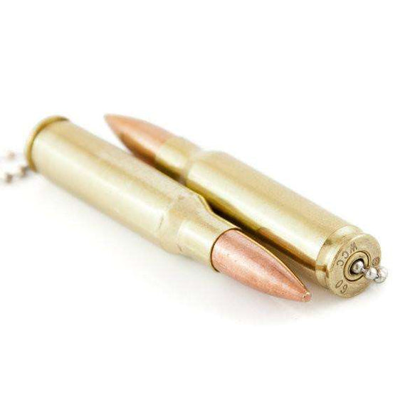.308 Caliber Real Bullet Light or Fan Pulls - Set of 2