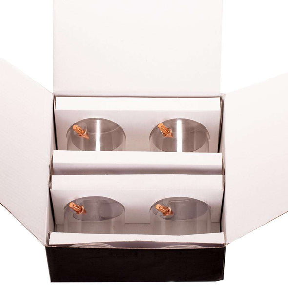.308 Bullet Whiskey Glass Gift Boxed Set of 4