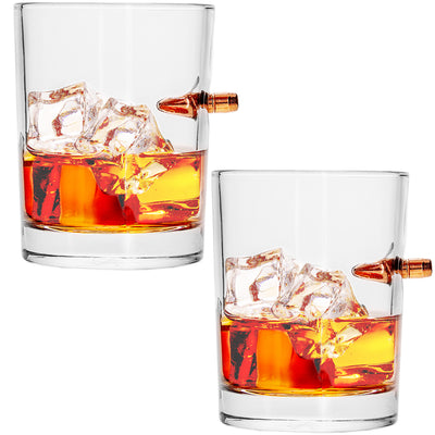 .308 Real Bullet Handmade Whiskey Glass - Individually Packaged