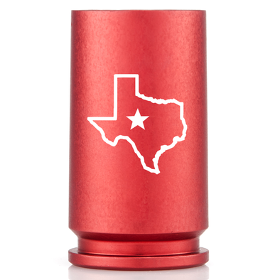 30MM A-10 Warthog Texas Pride Shot Glass - Red