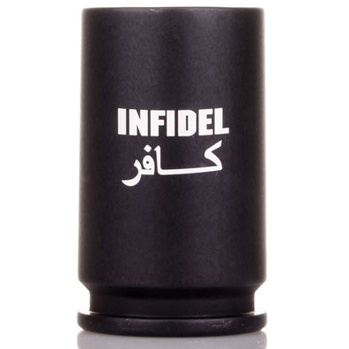 30MM A-10 Warthog Shell Infidel Shot Glass in Matte Black