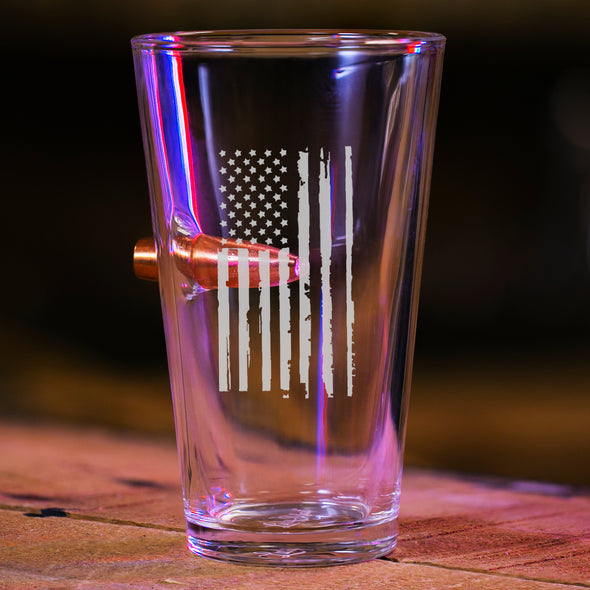 The American - Bullet Pint Glass Set