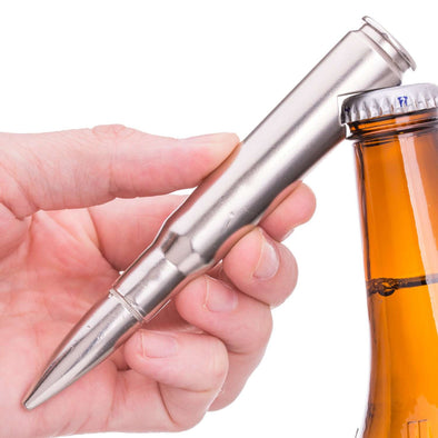 .50 Caliber BMG Bullet Bottle Opener in Chrome