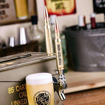 50 Caliber Bullet Beer Tap Handle