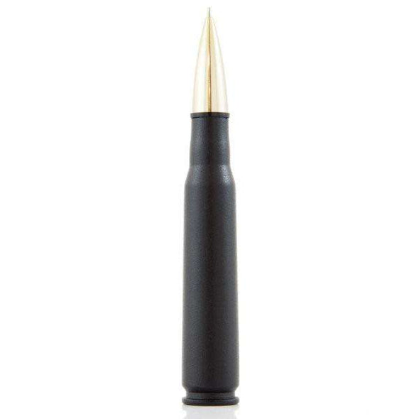 .50 Caliber Bullet Twist Pen in Matte Black