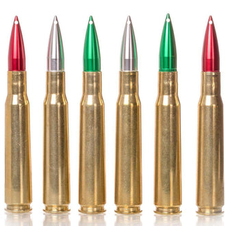 50 Caliber Christmas Ornament Set