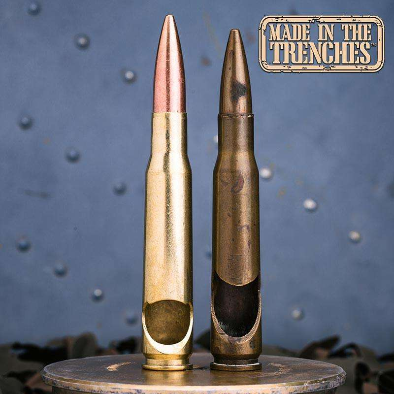 50 Caliber® Bullet Bottle Opener in Brass
