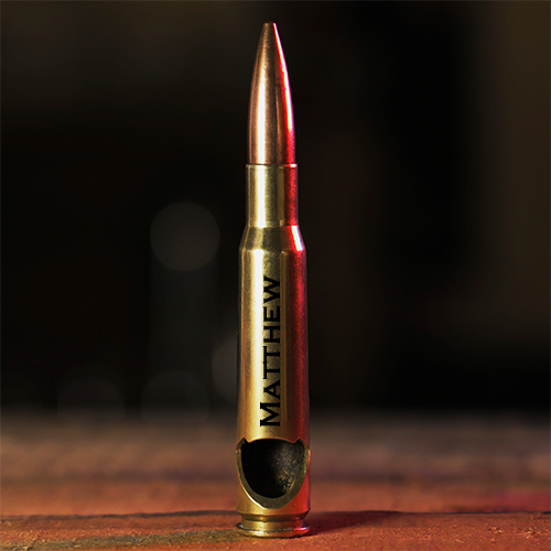Personalized Pints & .50 Cal Opener