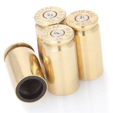 .40 Caliber Brass Bullet Valve Stem Caps
